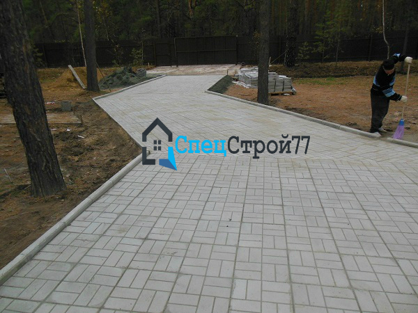 Тротуарная плитка 8 Кирпичей цена
