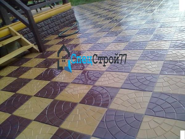 Тротуарная плитка паутинка цена