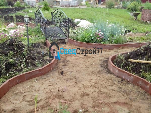 Бордюр садовый в СПБ